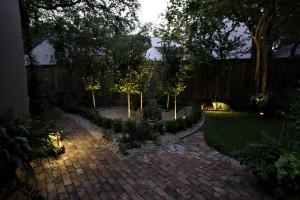 Strom im Garten