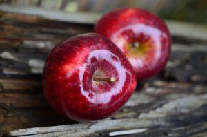 Apfel- und Zitronenstrom