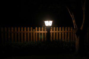 Wenn draußen Lichter leuchten sollen