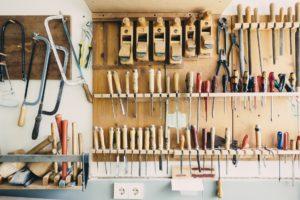 Strom in der Werkstatt